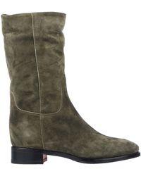 Santoni Boots - Green