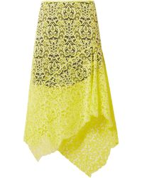Marques'Almeida Midi Skirt - Yellow