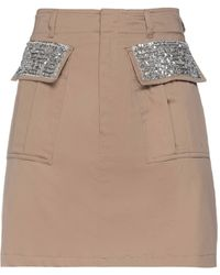 Hanita Mini Skirt - Brown
