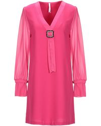 Imperial Short Dress - Pink