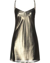 Chiara Ferragni Short Dress - Metallic