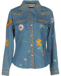 Blugirl Jeans - Denim Shirt - Lyst