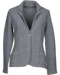 Eleventy Suit Jacket - Gray
