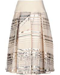 ALTEЯƎGO - 3/4 Length Skirt - Lyst