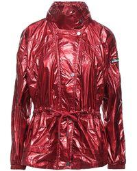 Ellesse Overcoat - Red