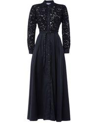Aglini Long Dress - Black