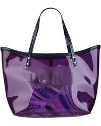 Emilio Pucci Shoulder Bag - Purple