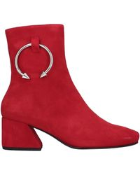 Dorateymur Ankle Boots - Red