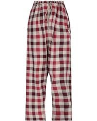 Vivienne Westwood Anglomania Casual Trouser - Red