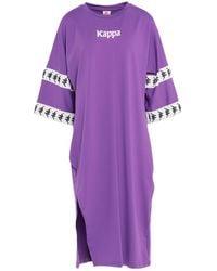 Kappa Midi Dress - Purple