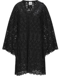 Attic And Barn Short Dress - Black