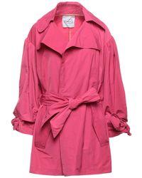 De'Hart Overcoat - Pink