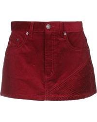 Marc Jacobs Mini-jupe - Rouge