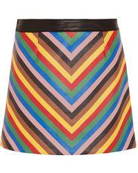Sara Battaglia Mini Skirt - Pink