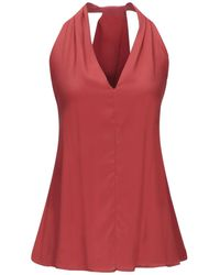 Ottod'Ame Top - Rot