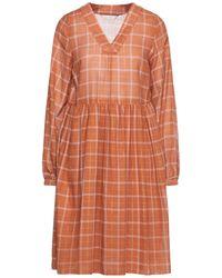 Numph Short Dress - Orange