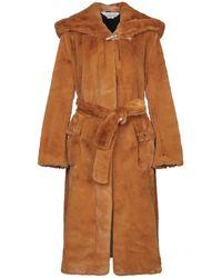 Golden Goose Deluxe Brand Faux Fur - Brown