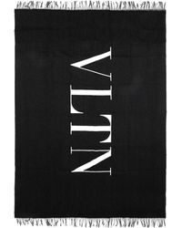 Valentino Valentino garavani bufanda - Negro