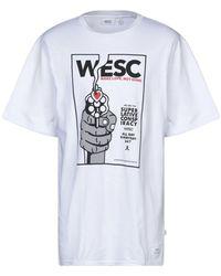 Wesc Camiseta - Blanco