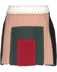 Valentino - Mini Skirt - Lyst