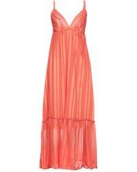 4giveness Long Dress - Orange