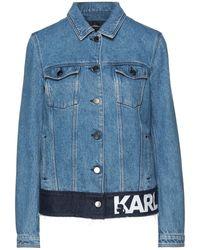 Karl Lagerfeld Chaqueta vaquera - Azul