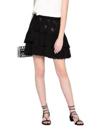 L'Agence - Mini Skirt - Lyst