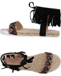 Silvian Heach Sandals - Black
