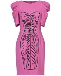 Moschino Short Dress - Purple