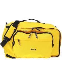 MSGM Handtaschen - Gelb