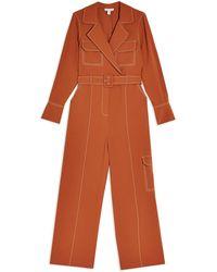 TOPSHOP Jumpsuit - Brown
