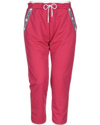 Colmar Cropped Trousers - Pink
