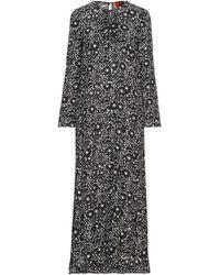 Colville Long Dress - Black