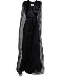 MM6 by Maison Martin Margiela Long Dress - Black