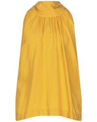 Attic And Barn Top - Yellow
