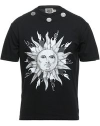 Fausto Puglisi Camiseta - Negro