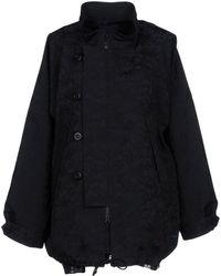 Yohji Yamamoto - Overcoat - Lyst