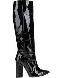 Relish Knee Boots - Black