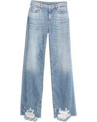 Liu Jo Denim Trousers - Blue