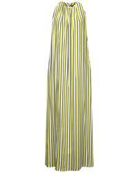 Frankie Morello Long Dress - Green