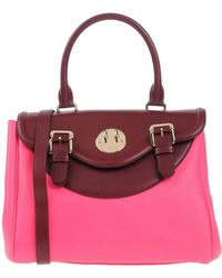Hill & Friends - Two-toned Leather Tote Bag  - Lyst