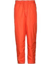 Comme des Garçons Casual Pants - Orange