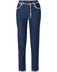 Eckhaus Latta Denim Trousers - Blue