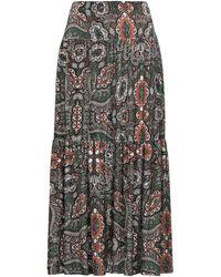 Irie Wash Midi Skirt - Green
