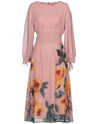 Anonyme Designers 3/4 Length Dress - Pink