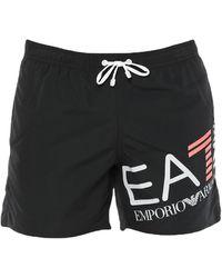 EA7 Swimming Trunks - Black