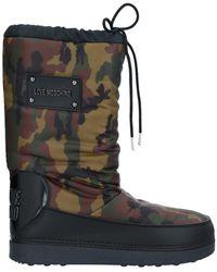 Moschino Knee Boots - Green