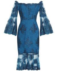 Nicholas Knee-length Dress - Blue