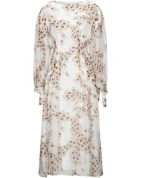 Anonyme Designers 3/4 Length Dress - White