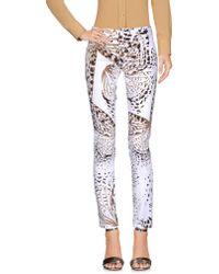 Blumarine Casual Trouser - White
